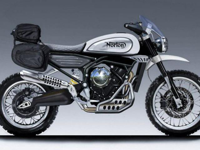 Norton 650cc Scrambler Concept Revealed
