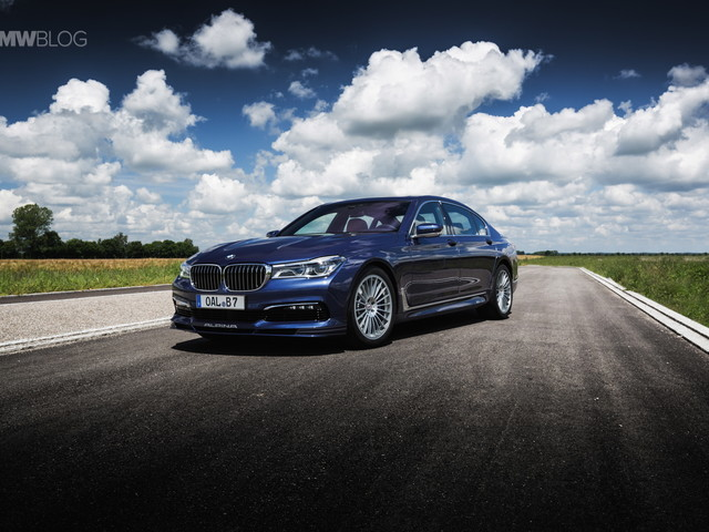 Automobile's Week with the ALPINA B7