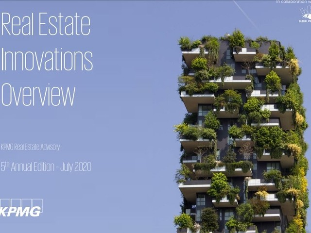 5e editie Real Estate Innovations Overview toont 600 innovaties