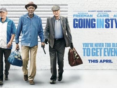 "Movie Review: ""Going In Style"" is OK . . . But Michael Caine is Great"