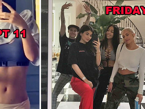 Kylie Jenner Is Partying Pregnant For BFF Jordyn Woods' Birthday