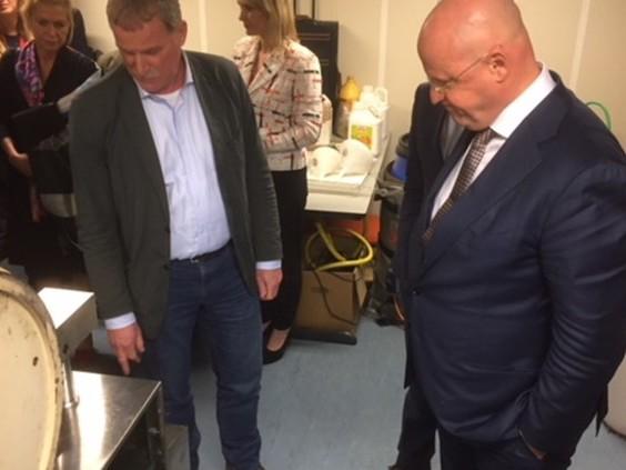 Nieuwe minister snuift sfeer op rond Brabantse onderwereld