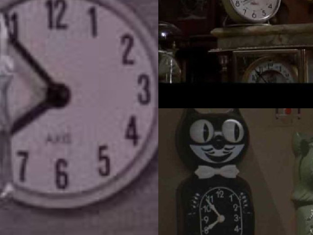 Are The Clocks In Back to the Future All Set To 7:52 For A Reason?