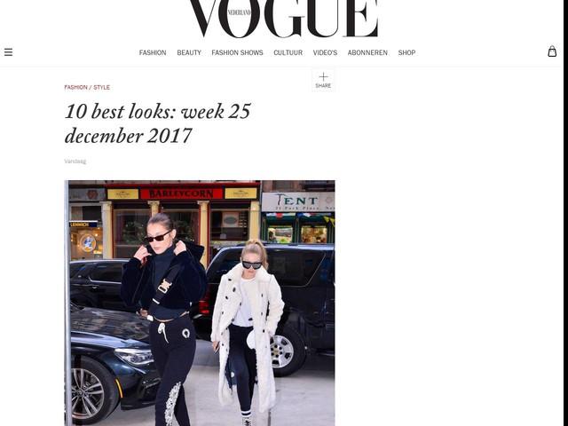 10 best looks: week 25 december 2017
