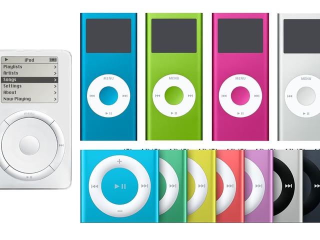 iPod bestaat twintig jaar: de geschiedenis van de populaire muziekspeler