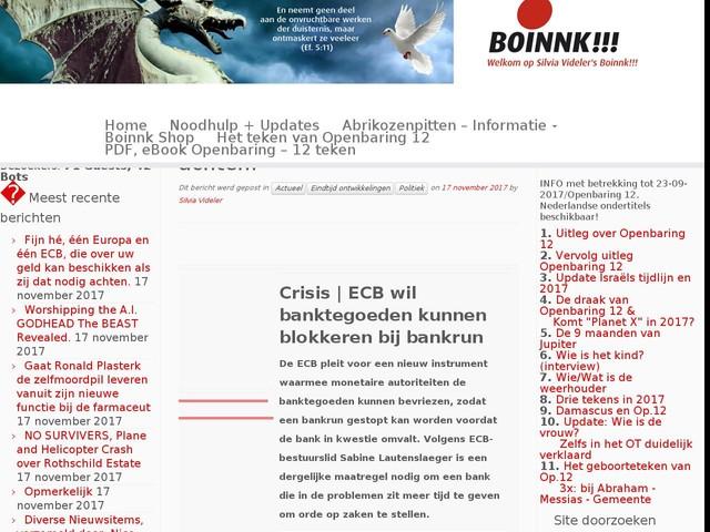 Fijn hé, één Europa en één ECB, die over uw geld kan beschikken als zij dat nodig achten.