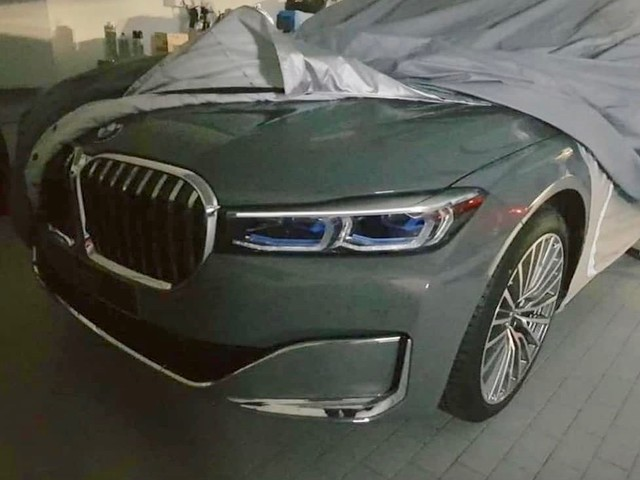 2020 BMW 7 Series facelift leaked