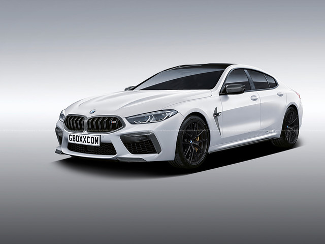 BMW M8 Gran Coupe gets rendered based on the new 8 Series GC