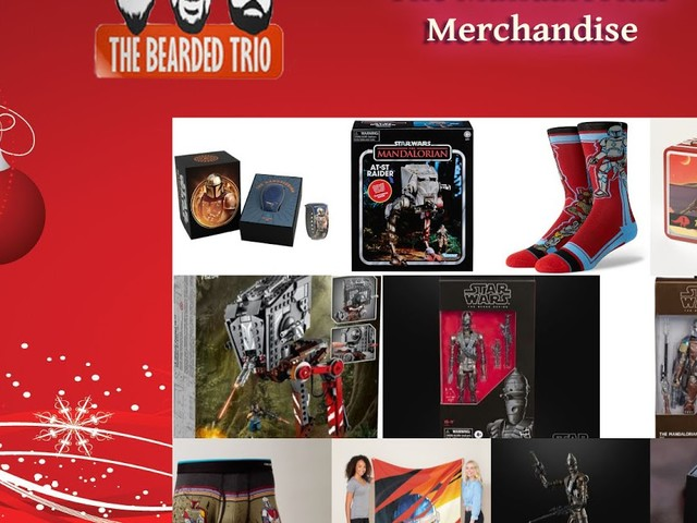 The Bearded Trio Christmas Gift Idea - We List 10 NEW 'The Mandalorian' Products