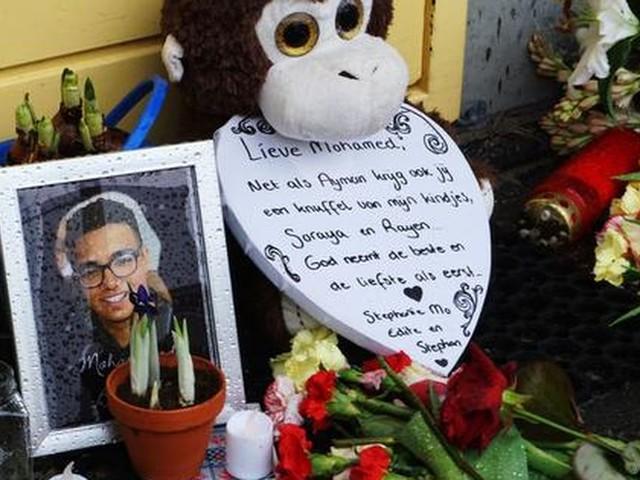 16 februari stille tocht voor doodgeschoten Mohammed (17)