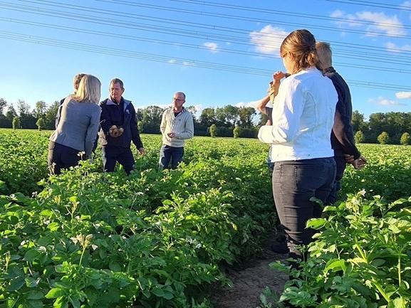 Ambtenaren de boer op: stages voor ministerie van Landbouw