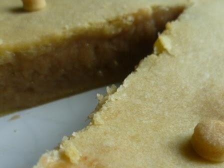 Rabarber-custard taart