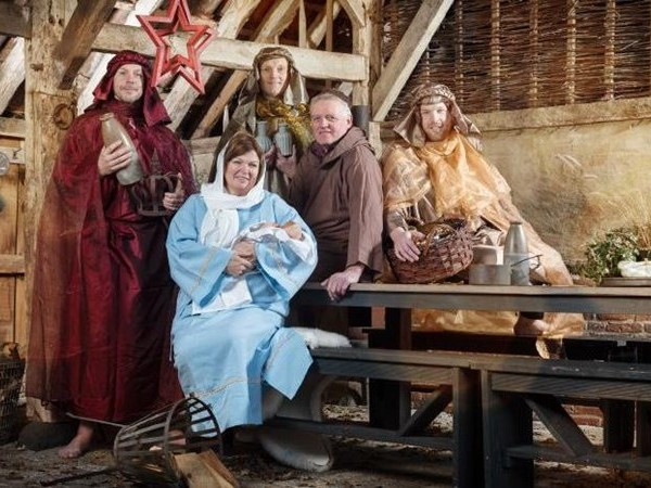 Ludieke uitnodiging kerstdorp voor college gemeente Tubbergen