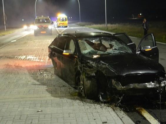 Ernstig ongeval in Oudenbosch, gewonde in sloot gevonden