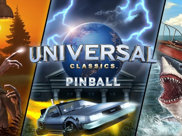 REVIEW - Universal Studios Pinball Tables Featuring E.T. Jaws and Back to the Future From Zen Studios