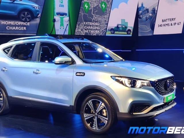 MG ZS EV Unveiled In India, Launch In January 2020