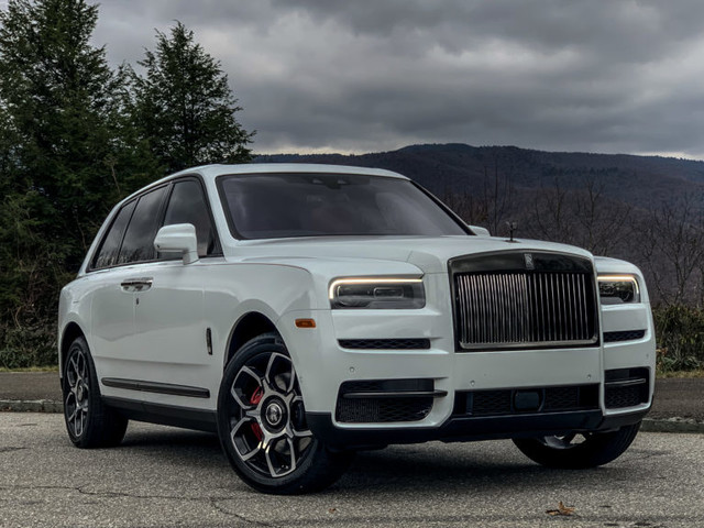 Apparently You Can Balance a Nickle on a Rolls-Royce Cullinan V12 Engine