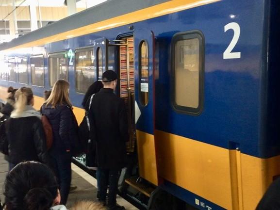 Geen treinverkeer van en naar Breda door grote sein- en wisselstoring
