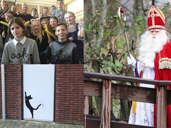 Goed nieuws: fipronil-vrije eieren, graffiti-poezen en een tuinslangfanfare