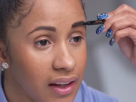 A Regular Degular Shmegular Beat: Cardi B Shows Us Her Everyday Makeup Routine [Video]