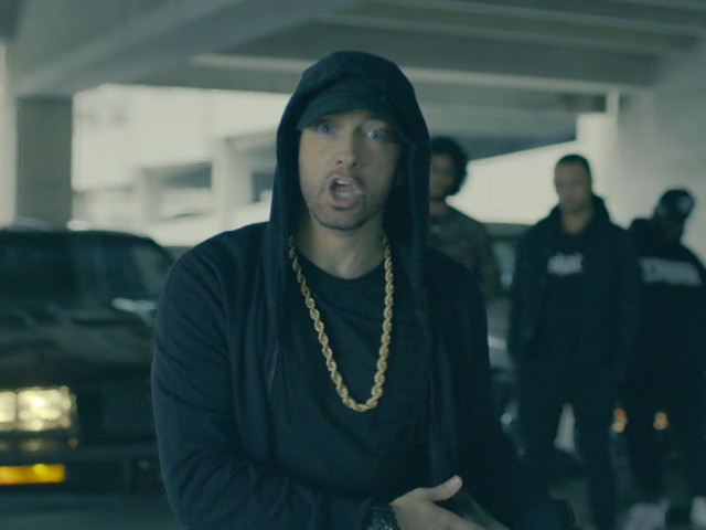 Eminem Performs An Anti-Trump Freestyle In the BET Hip-Hop Awards Cypher