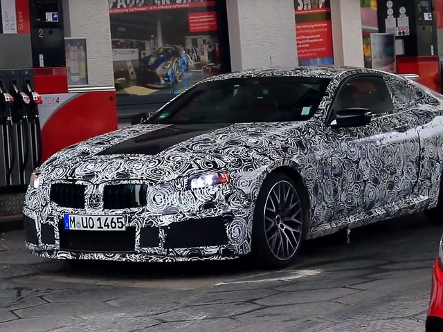BMW M850i packaging details emerge