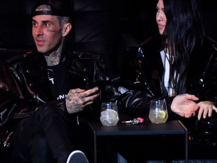 So You Know It's Real: Travis Barker Gets Girlfriend Kourtney Kardashian's Name Tattooed On His Chest