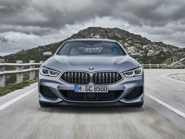 First videos of the new BMW 8 Series Gran Coupe and M850i Gran Coupe