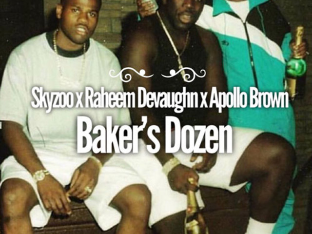 "Skyzoo Connects With Raheem DeVaughn & Apollo Brown For ""Baker's Dozen"""