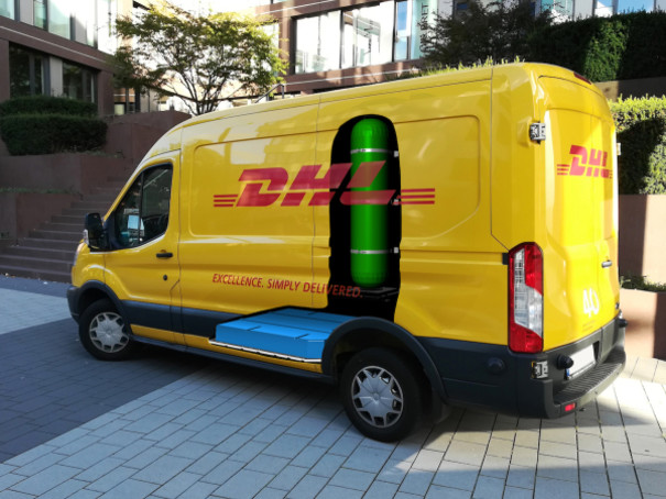 DHL and StreetScooter develop new fuel cell electric panel van; DHL orders 100 units