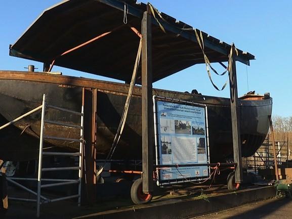 De Janus was een gatenkaas, maar na restauratie keert het historische schip terug in Woudrichem