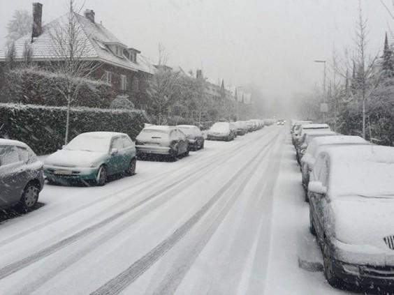 Vijf tot tien centimeter sneeuw op komst, code oranje vanwege gladheid vanaf 12.00 uur