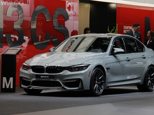 2018 Detroit Auto Show: BMW M3 CS looks sportier than ever