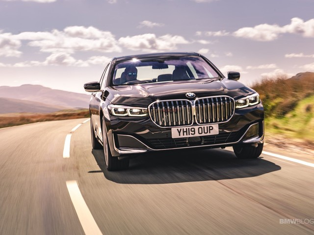 The 2020 BMW 730Ld Facelift – New Photos