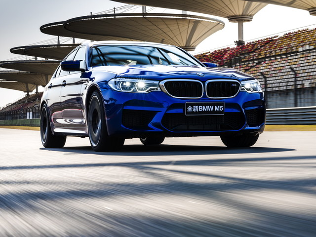 What is the F90 BMW M5's toughest competitor?
