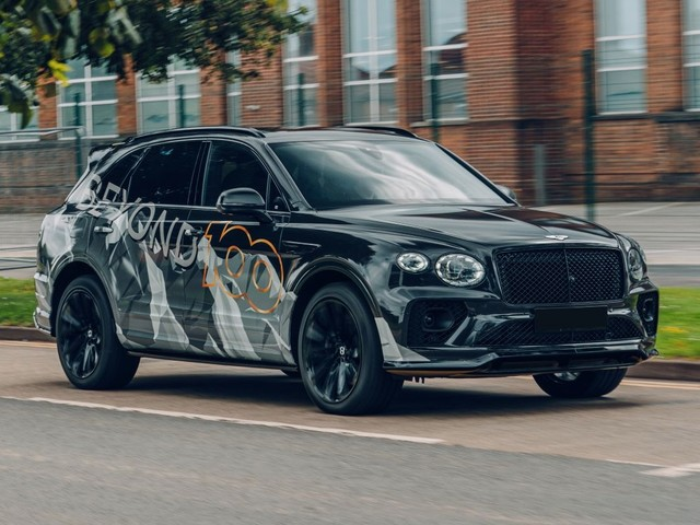 2021 Bentley Bentayga Speed teased