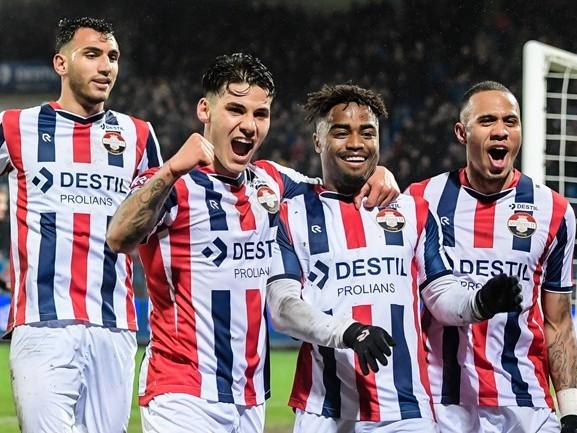 Willem II verstevigt vijfde positie met winst op FC Groningen