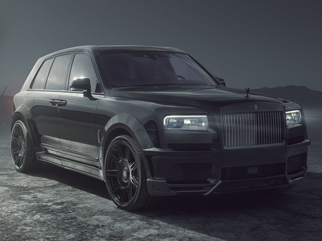 Rolls-Royce Cullinan Black Badge by Spofec is one mean monster