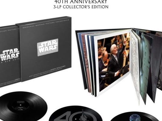 'A New Hope' 40th Anniversary Soundtrack Vinyl Box Coming December