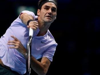 Enorme stunt Goffin tegen Federer