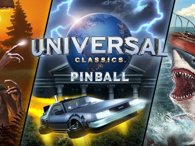 Universal Classics Pinball Coming to Zen Studios Pinball Platforms. Includes Jaws, E.T. and Back to the Future