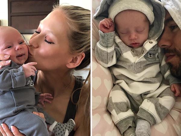 Anna Kournikova And Enrique Iglesias Show Off Their Newborn Twins