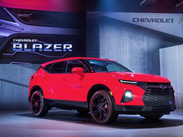 2019 Chevy Blazer: An icon returns