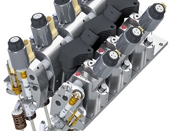 Empa team develops electrohydraulically actuated cam-less valve train; up to 20% fuel savings at low load