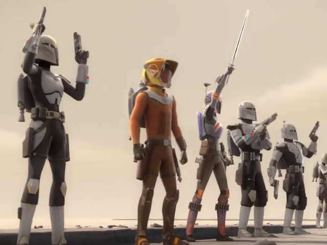 Star Wars Rebels - Season 4 Trailer