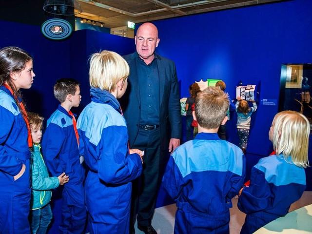 André Kuipers blijft langer in Maritiem Museum