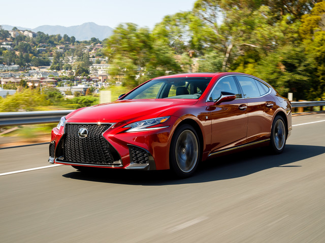 2018 Lexus LS Pricing: Yes, It's Still a Lot Cheaper than an S-class