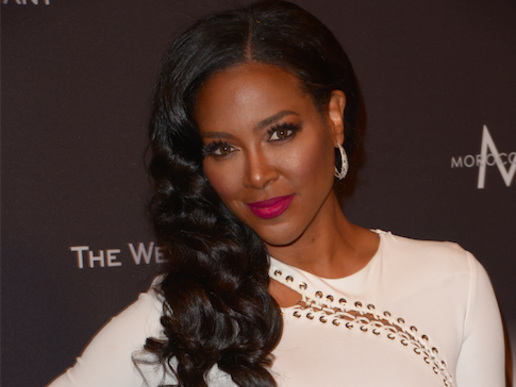 Kenya Moore Share A Blink Into Her Off-Key Beyonce Singing Wedding Night