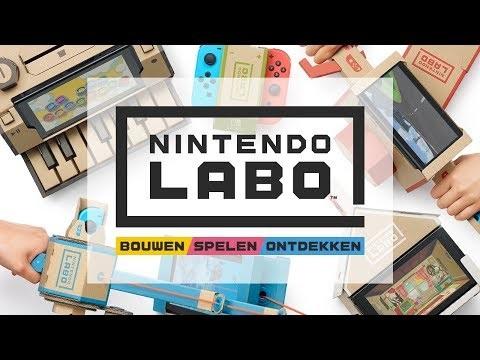 Bouw met karton je eigen Switch-creaties met Nintendo Labo