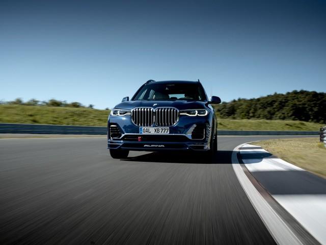 TEST DRIVE: BMW ALPINA XB7: Furious luxury yacht with 621 hp